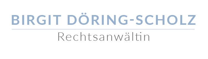 Rechtsanwältin Birgit Döring-Scholz - Logo